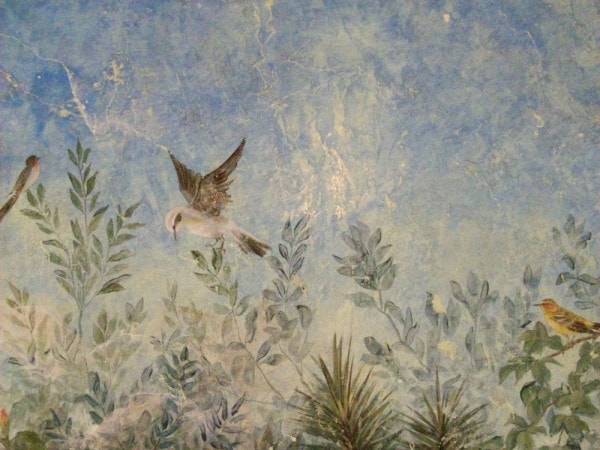 Fresco detail by Lisa Moon, Paper Moon Painting