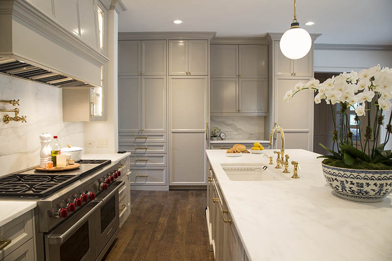 painted in Sherwin Williams Amazing Gray, RAW
