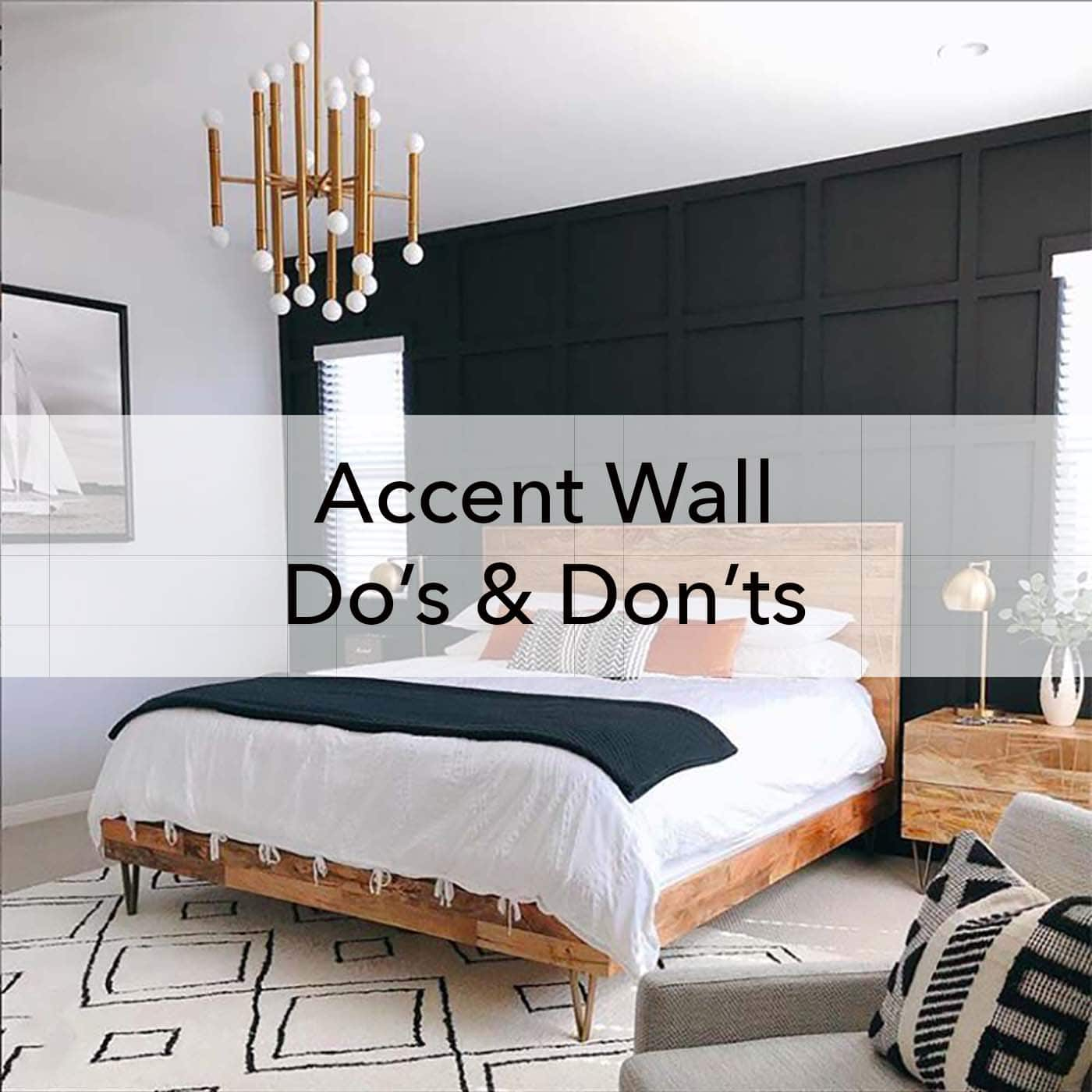 Accent wall do's and don'ts, design advice on how to paint, Paper Moon Painting blog