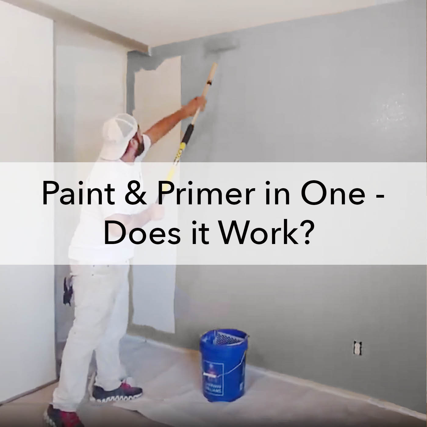 Paint and Primer in One, does it work, blog, Paper Moon Painting company
