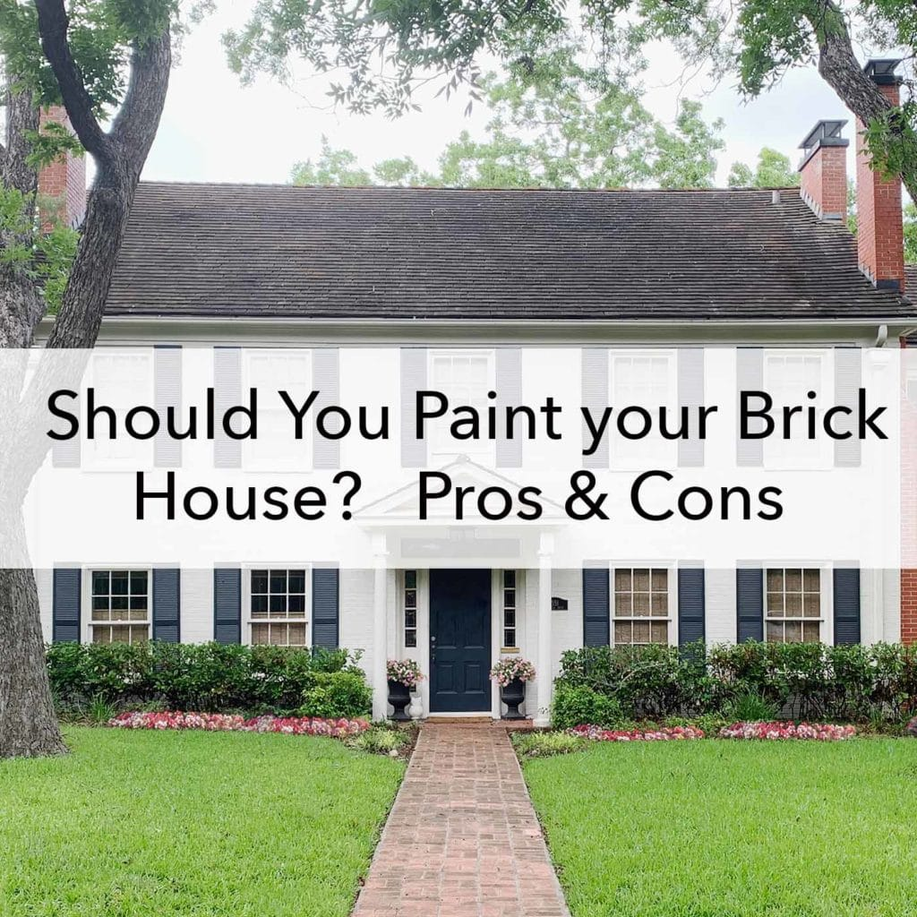 Should You Paint your Brick House, Pros and Cons